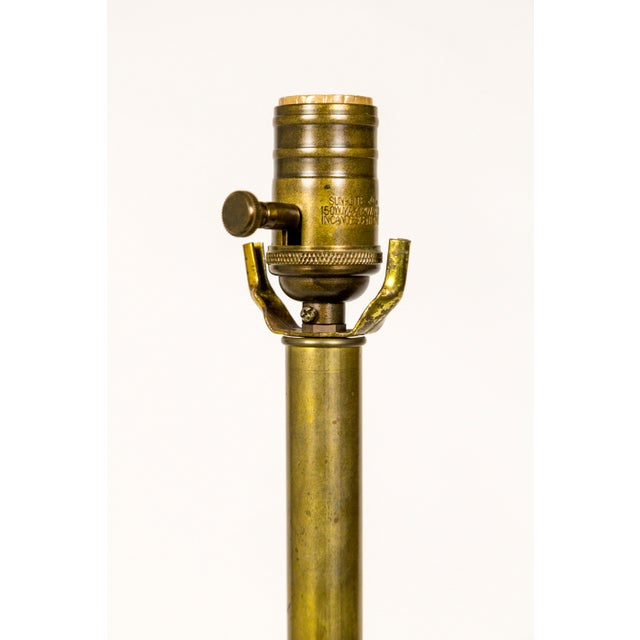 1900 - 1909 Copper & Brass Victorian Fire Hose Nozzle Lamps (Pair) For Sale - Image 5 of 13