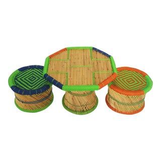 Mexican Children's Table & Stools