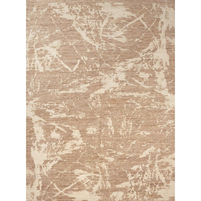 Silk Schumacher Miraj Area Rug in Hand-Knotted Wool Silk, Patterson Flynn Martin For Sale - Image 7 of 7