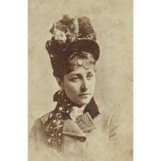 1890's Broadway Actress Dora Goldthwaite Photograph For Sale