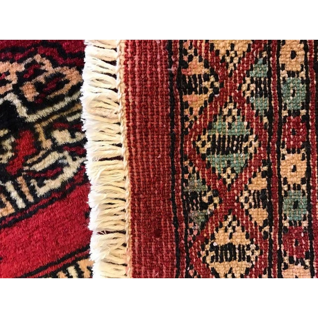"Hand Woven Bukhara Oriental Rug - 2'1"" X 2'11"" - Image 5 of 5"