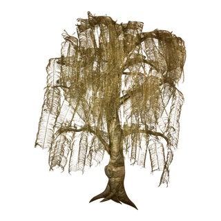 Brutalist Tree Sculpture For Sale