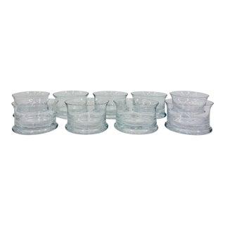 Vintage Glassware Set For Sale