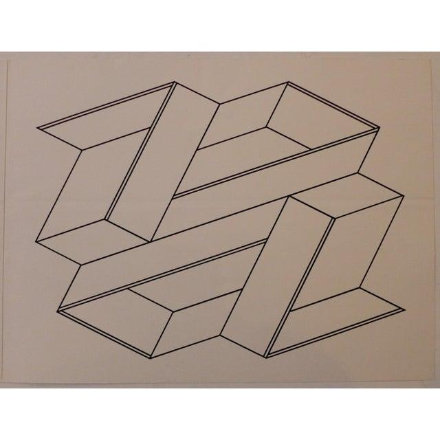Josef Albers Josef Albers Silkscreen, 1972 For Sale - Image 4 of 9