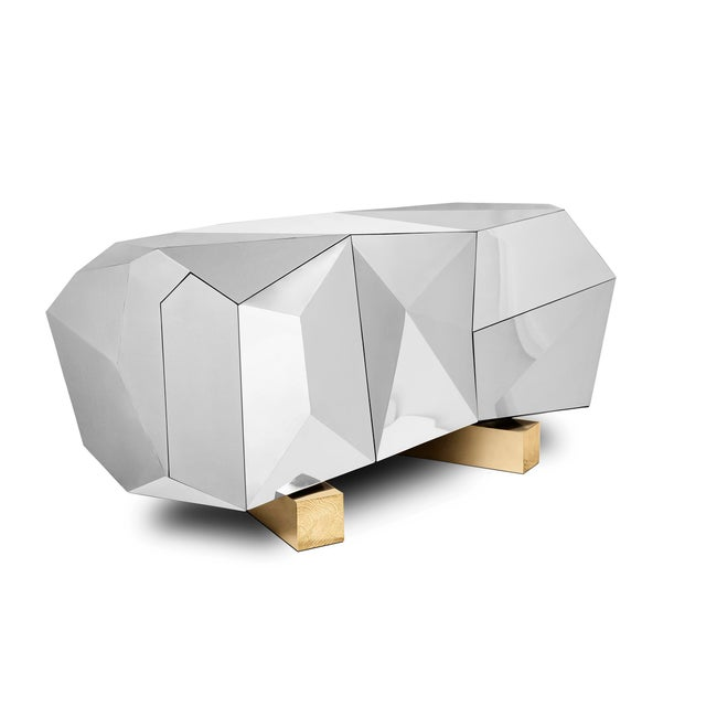 Projected to be the jewel in the crown of the Portuguese brand Boca do Lobo, the Diamond Sideboard is a reflection of the...