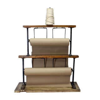 Country Paper Wrap Station For Sale