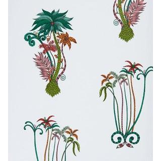 Emma J Shipley Jungle Palms Wallpaper by Clarke & Clarke - Price Per Yard For Sale