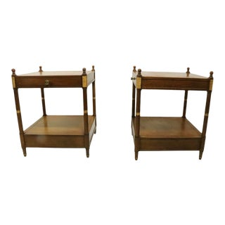 Pr. Classical Tables by Baker For Sale