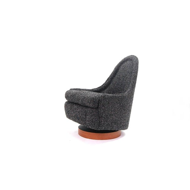 Wood 1960s Vintage Petite Milo Baughman Chair For Sale - Image 7 of 7