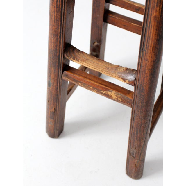 Early 20th Century Antique Chinese Stool For Sale - Image 5 of 11