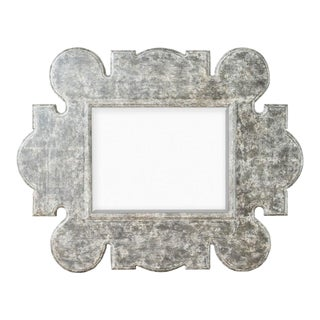 Renee Gothic Distressed Gray Mirror For Sale