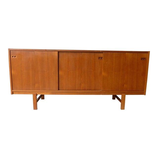 1950s Mid Century Modern Danish Koford Larsen Teak & Rosewood Credenza For Sale