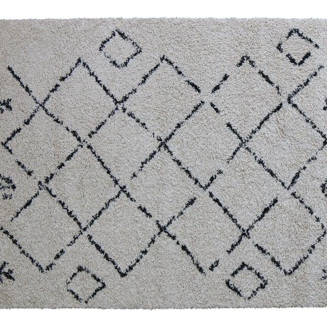 Moroccan Trellis Rug - 5'3''x 7'7'' - Image 4 of 9