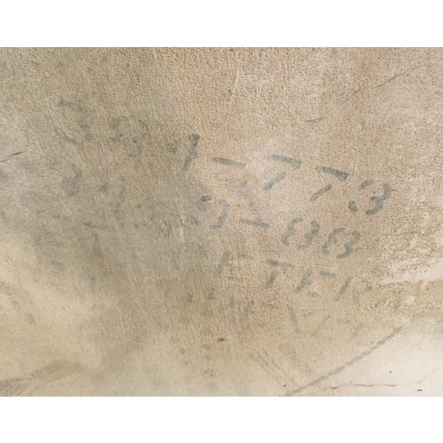 20th Century Contemporary Drexel Et Cetera Ivory Textural Side Table For Sale In Los Angeles - Image 6 of 7