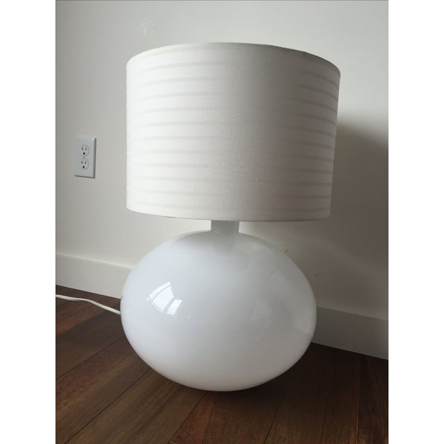 Modern White Lamp - Image 5 of 5