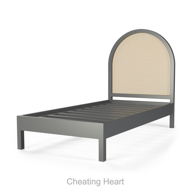 Eva Bed - Twin - Cheating Heart Charcoal For Sale - Image 4 of 4