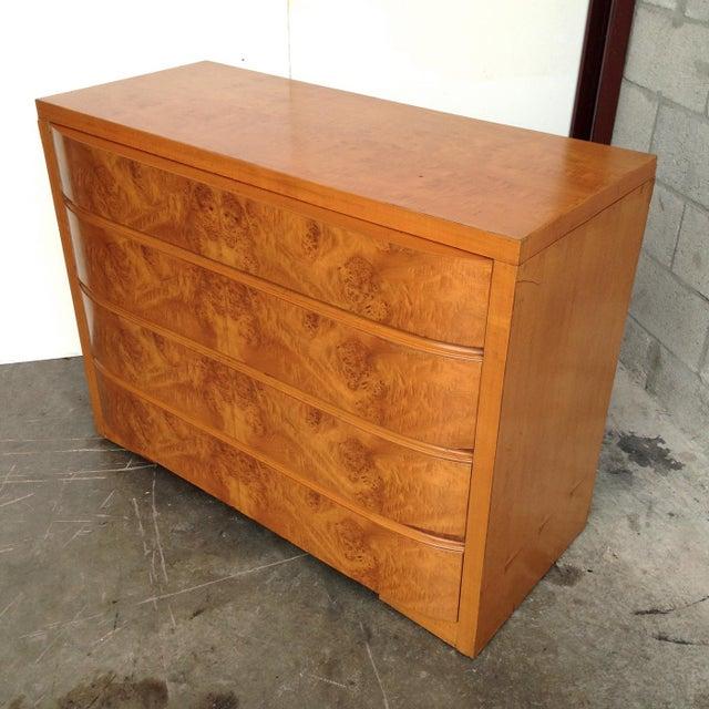 Art Deco Burl Wood Dresser - Image 3 of 5