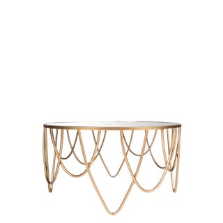 Bella Mirrored Coffee Table For Sale