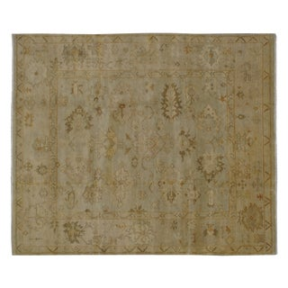 Stark Studio Traditional Portuguese Needlepoint Wool Rug - 11′4″ × 16′3″ For Sale
