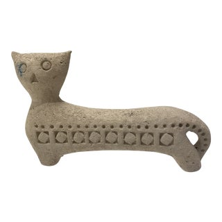 Mid-Century Modern Bitossi Cat For Sale