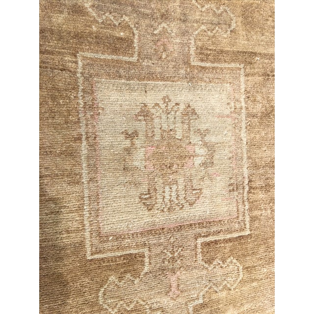"Vintage Turkish Oushak Rug - 7'3"" x 11'4"". - Image 7 of 8"