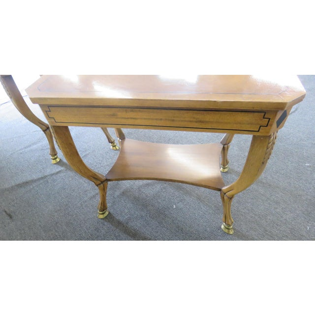 Pair of Regency Style End Tables For Sale - Image 12 of 13
