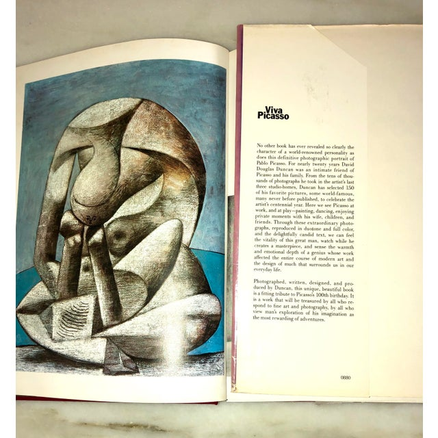 """Vintage 1980 """"Viva Picasso"""" Coffee Table Studio Book For Sale - Image 11 of 13"""
