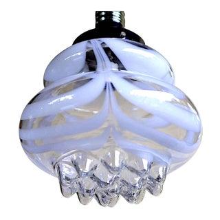 Mazzega Murano pendant Glass Italian Structure, 1960