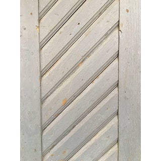1930's Antique French Painted Farm Doors-a Pair Preview