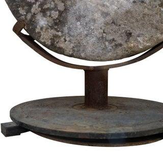 Stone Grinding Wheel Garden Art Preview