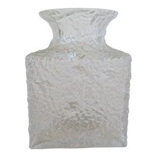 Timo Sarpaneva Glass Vase For Sale