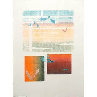 Untitled Original Abstract Print by Jacklyn Friedman
