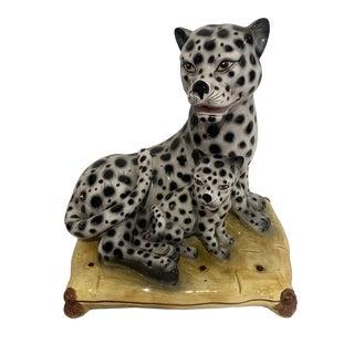 Vintage Italian White Snow Leopard For Sale