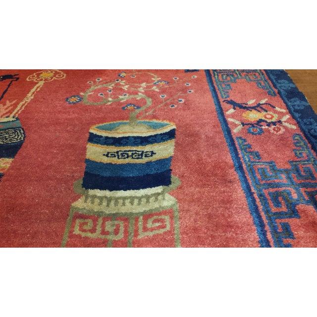 "Type: Patoa Origin: China Circa: 1910 US Size: 7' 9"" x 5' 8"" Metric Size: 2.36 x 1.73 meters"