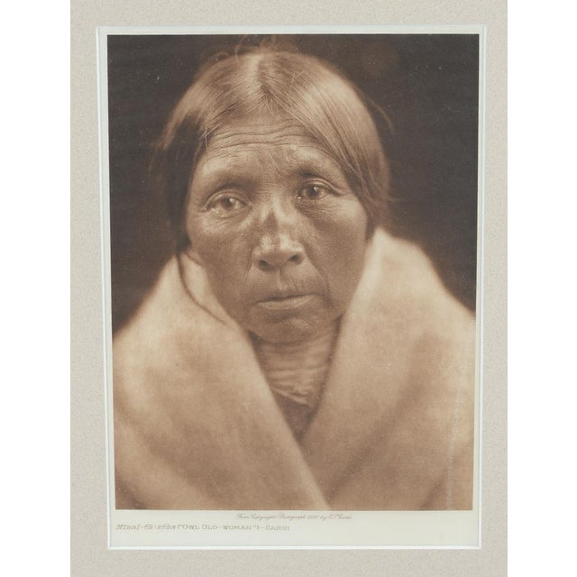 Sarsi Woman Photogaphy by E. Curtis - Image 2 of 5
