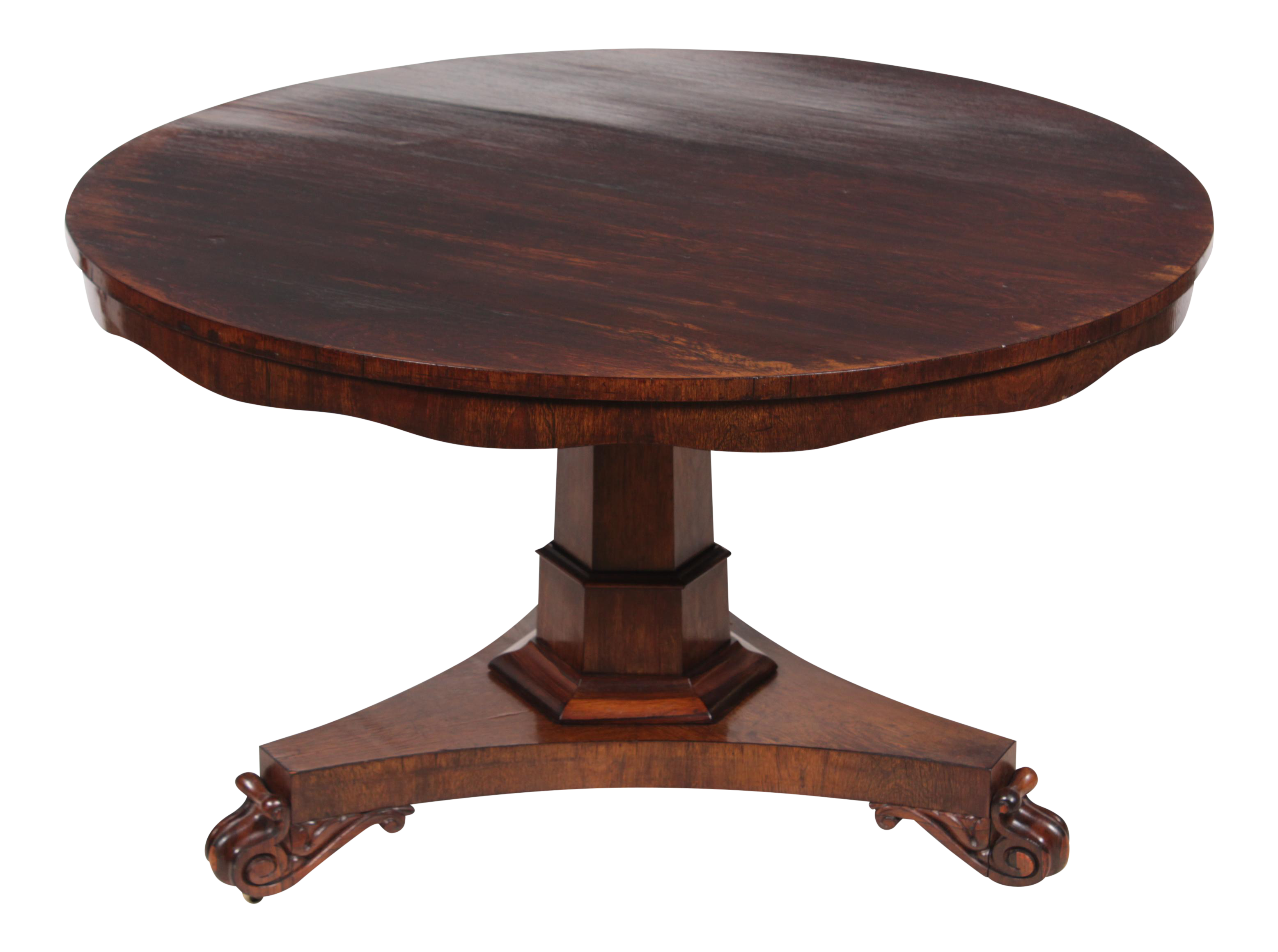 1840s Regency Style Rosewood Table   Image 1 Of 9