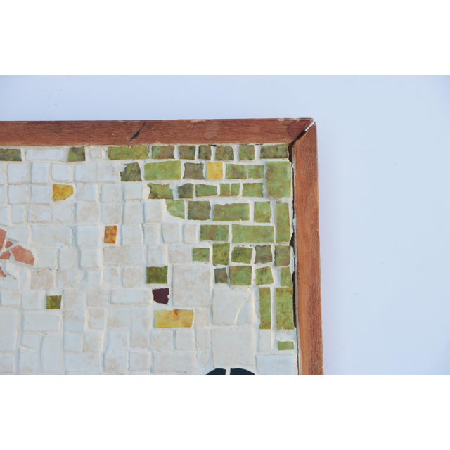 Mid-Century Horse Wall Mosaic For Sale - Image 4 of 5