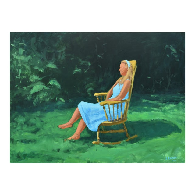 "Stephen Remick ""Tranquility"" Contemporary Painting For Sale"