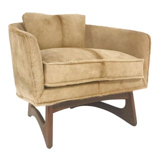 Vintage Adrian Pearsall for Craft Associates Lounge Chair Restored in Brazilian Cowhide
