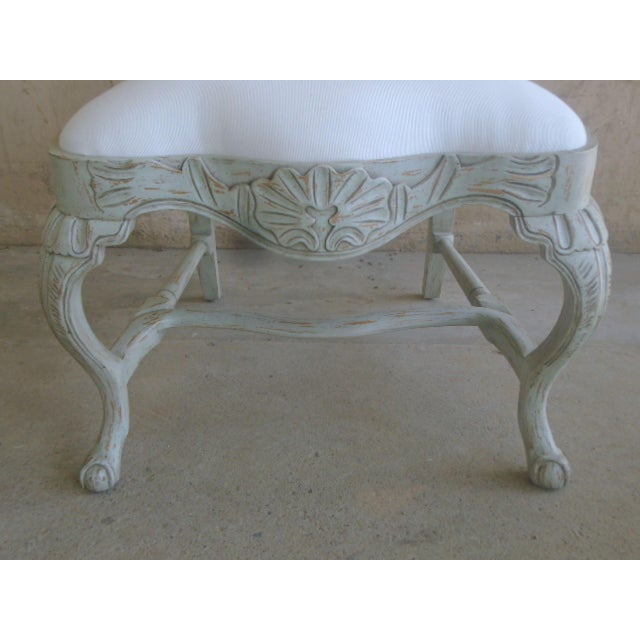 Rococo Swedish Rococo Dining Side Chair For Sale - Image 3 of 4