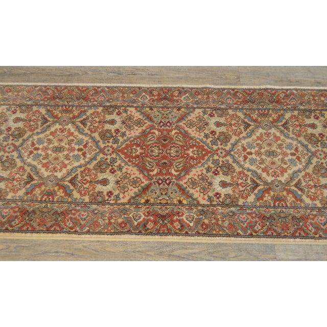 "Karastan Empress Kirman 2'6"" X 8'6"" Runner Area Rug Carpet (A) For Sale In Philadelphia - Image 6 of 12"