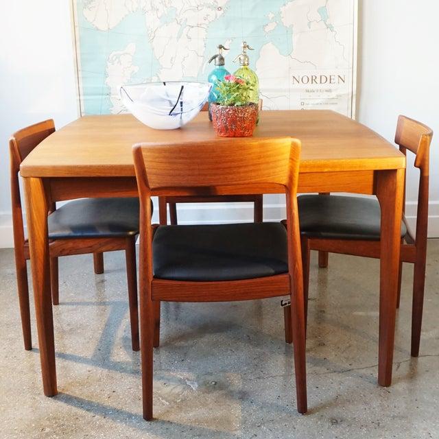 Danish Henning Kjærnulf Extendable Dining Table - Image 4 of 7