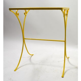 Wrought Iron Patio Side Table Attributed to Salterini Preview