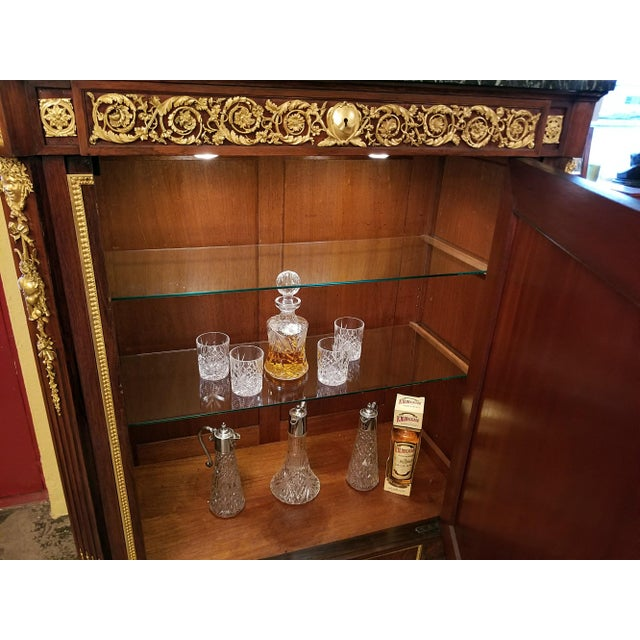 19th Century Louis XVI Style Cabinet - High Quality For Sale - Image 10 of 13