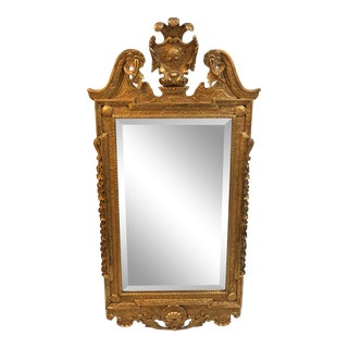 Friedman Brothers Colonial Williamsburg Giltwood Mirror For Sale
