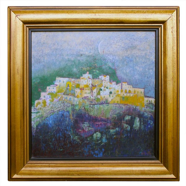 Paint 1971 City Scene by Giuseppe Dilieto For Sale - Image 7 of 7