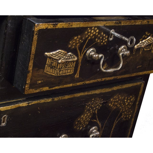 Tete De Negre Chinoiserie Bedside Chest (Pair) - Image 7 of 11