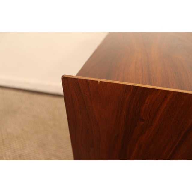 Lane Mid-Century Danish Modern Walnut Nighstands- A Pair - Image 7 of 11