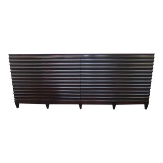 Baker Barbara Barry Fluted Low Cabinet For Sale