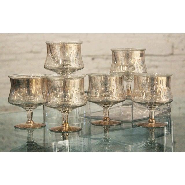 Dorothy Thorpe Shrimp Cocktail Glasses - Set of 6 - Image 2 of 7